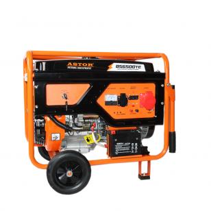 Benzininis generatorius ASTOR BS-6500TE